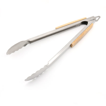 16 Inch BBQ Grill Tongs With Woodle Handle Baille Co.,Ltd4
